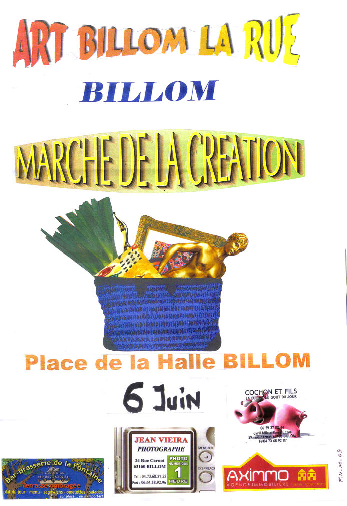 Expostion Billom, juin 2009